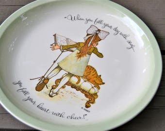 HOLLIE HOBBIE PLATE When You Fill Your Day with Song Hollie Hobbie Collectors Edition 1972