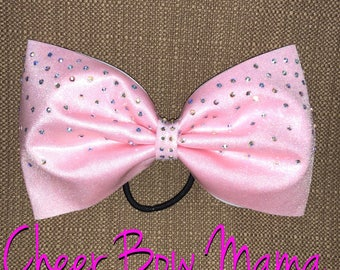 Pink Cheer Bow - No Tails