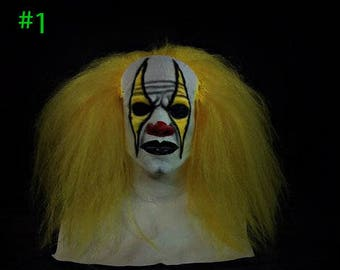 Scooter Clown Mask