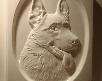 GERMAN SHEPHERD DOG MOLD