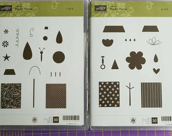 Stampin Up Playful Pieces stamp set