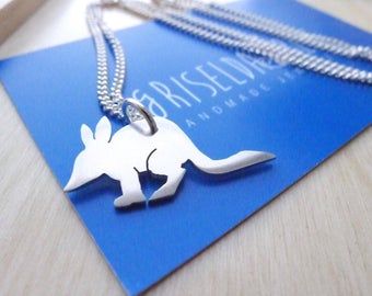 Bilby sterling silver necklace