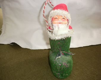 Vintage Santa/Boot Candy Container