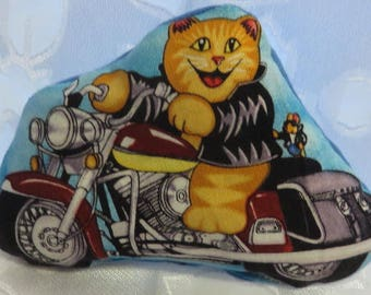 Motorcycle Cats Catnip Cat Lover Gift FREE SHIPPING Toys are not filled until you order