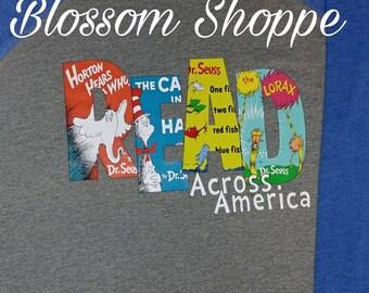 Read Across America Dr Seuss Birthday Shirt