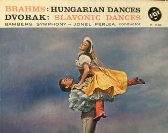 Brahms Hungarian Dances Dvorak Slavoknic Dances Bramberg Symphony Orchestra - vinyl record