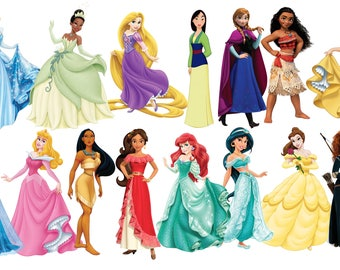 Princess Cutouts/Cake toppers Die cut