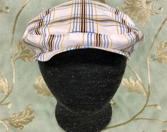 Plaid Flat Cap