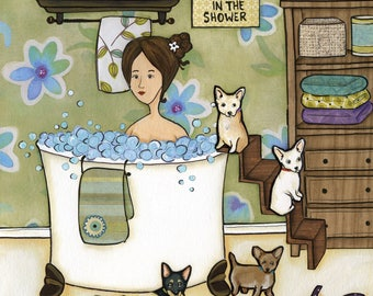 Chihuahuas and Bubbles