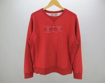Gap Sweatshirt Vintage Gap Spellout Pullover Men's Size S Made in Korea