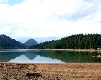 Rimrock Lake photograph