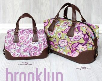Brooklyn Handbag & Traveler Pattern by Swoon - Paper Printed Pattern
