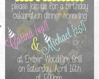 Surprise! Birthday Invitation