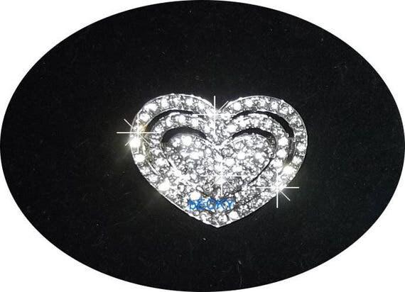 Puppy Bows ~Rhinestone barrette pet hair clip TIARA styles #43-47 ~ USA Seller