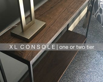U R B A N | salvage XL Slender Console Table | 47 x 10 x 32