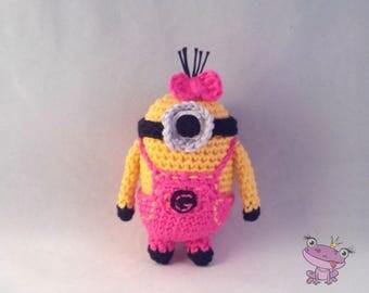 Minion crochet Amigurumi Rose