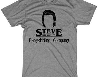 Steve's babysitting company shirt funny steve harrington king steve tshirts graphic funny tees