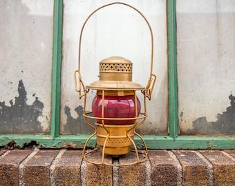 NYCS New York Central System Adlake Lantern Vintage Kerosene Lamp