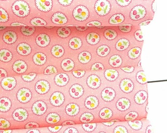 Old New 30's Spring 2017 - Scallop(Pink Background) - Lecien - Japan, Inc