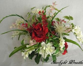 Floral Centerpiece, Mother's Day Centerpiece, Year Round Floral Centerpiece, Holiday Centerpiece