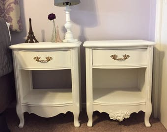 Two nightstands