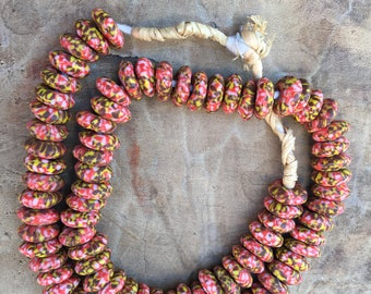 Ghana New recycle glass bead - Africa trade beads