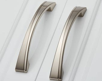 cabinet pull handle dresser pull handle drawer pull handle modern contracted door pull handle  8055