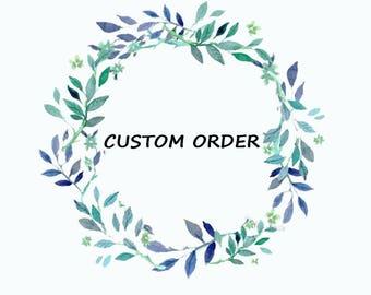 Custom order For Debbie Trinidad- Emerald diamond engagement ring-promise ring -Art deco ring-Custom rings-Diamond wedding set