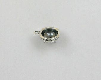 Sterling Silver 3-D Mixing Bowl Charm