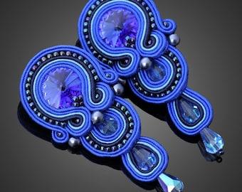 Soutache earrings Chloe No. 10