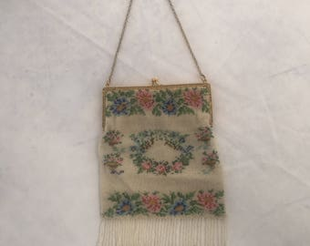 Beautiful beaded purse 1940's - 1950's