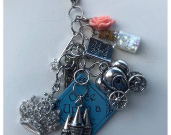 Cinderella Inspired Charm Bunch