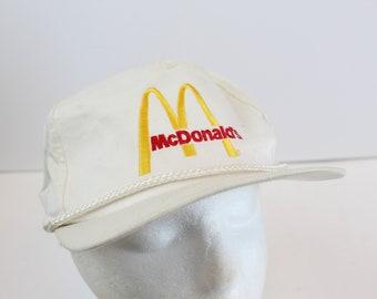 Mcdonalds 90s hat snapback