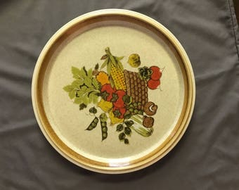 Mikasa Stone Manor Market Basket Dinner Plate 10 3/4 inches F5816