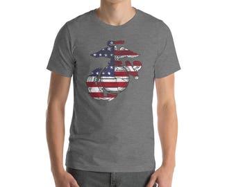 Marine corps/marine corps tshirts/Vintage clothing/vintage t shirt/Military gifts/Military retirement/military t shirts/veteran tshirt/grunt