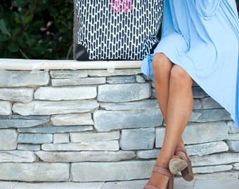 Carolina Night Shoulder Bag*FREE Personalization*Road Trip*College*Monogrammed Bag*Luggage*Carry On*Monogrammed Tote