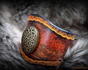 Strength Celtic bracelet aflame for her or him :)