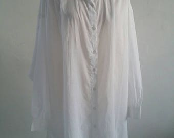 vintage deadstock cotton blouse