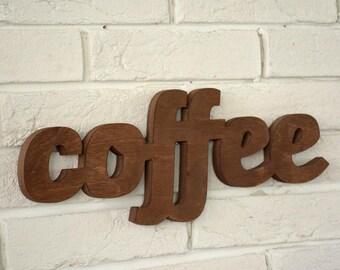 Kitchen sign decor - coffee sign - wooden kitchen sign - rustic coffee shop sign - bar sign - coffee lovers sign - restaurant sign