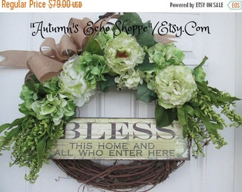 INSPIRATIONAL SPRING WREATH ~ Spring Wreath ~ Spring Door Wreath ~ Spring Decor Wreath ~ Front Door Wreath ~ Mother's Day Wreath ~ Interior