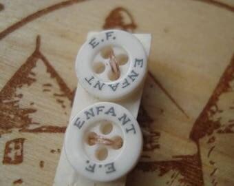 Tiny Buttons # Enfant # Fleamarketbuzz