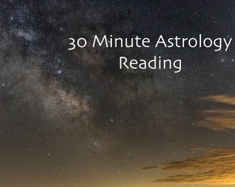 Astrology Reading Session - 30 Minutes