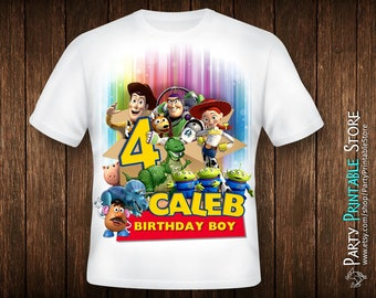 Toy Story Shirt Boy, Toy Story Birthday Shirt Iron On, Toy Story Shirt Birthday, Birthday Shirt Boy, Birthday Iron On Boys, Iron On Transfer