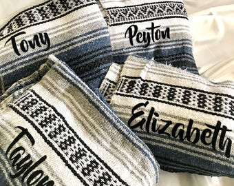 Mexican Blankets - Personalized