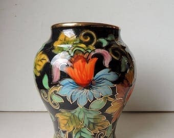Vase Hubert Becquet Quaregnon Belgian Pottery