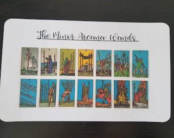Tarot Card Stickers
