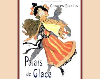 Palais de Glace With a Digital Mat