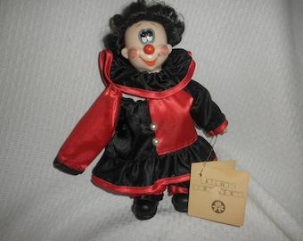 Victoria Impex Clown Doll Goofy Look 1982