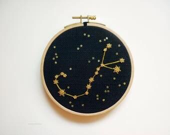 """Embroidery """"Scorpio"""""""