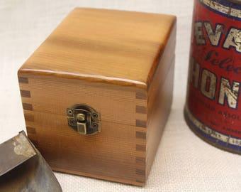 Wooden Tea Bag Box Cedar Tea Box Tea Storage Tea Bag Box & gifts under 35 Tea box wooden tea box Tea Storage Tea Bag Box Aboutintivar.Com